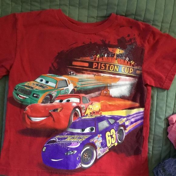 Boys Short-Sleeve Tee Crewneck Toy Race Car